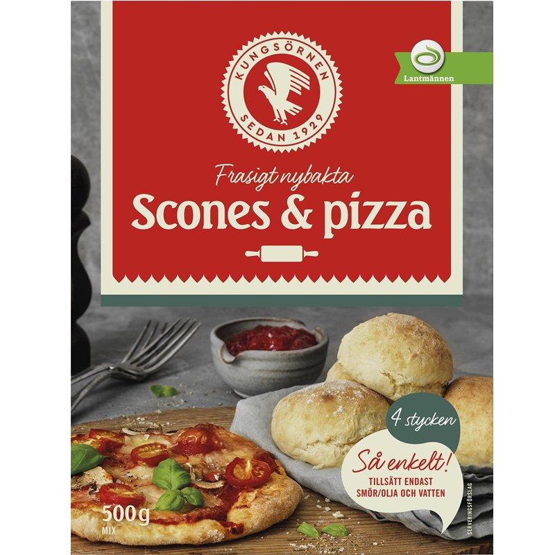 Scones & Pizzamix - 25% rabatt