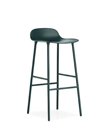 Form Barstol Grønn 75 cm