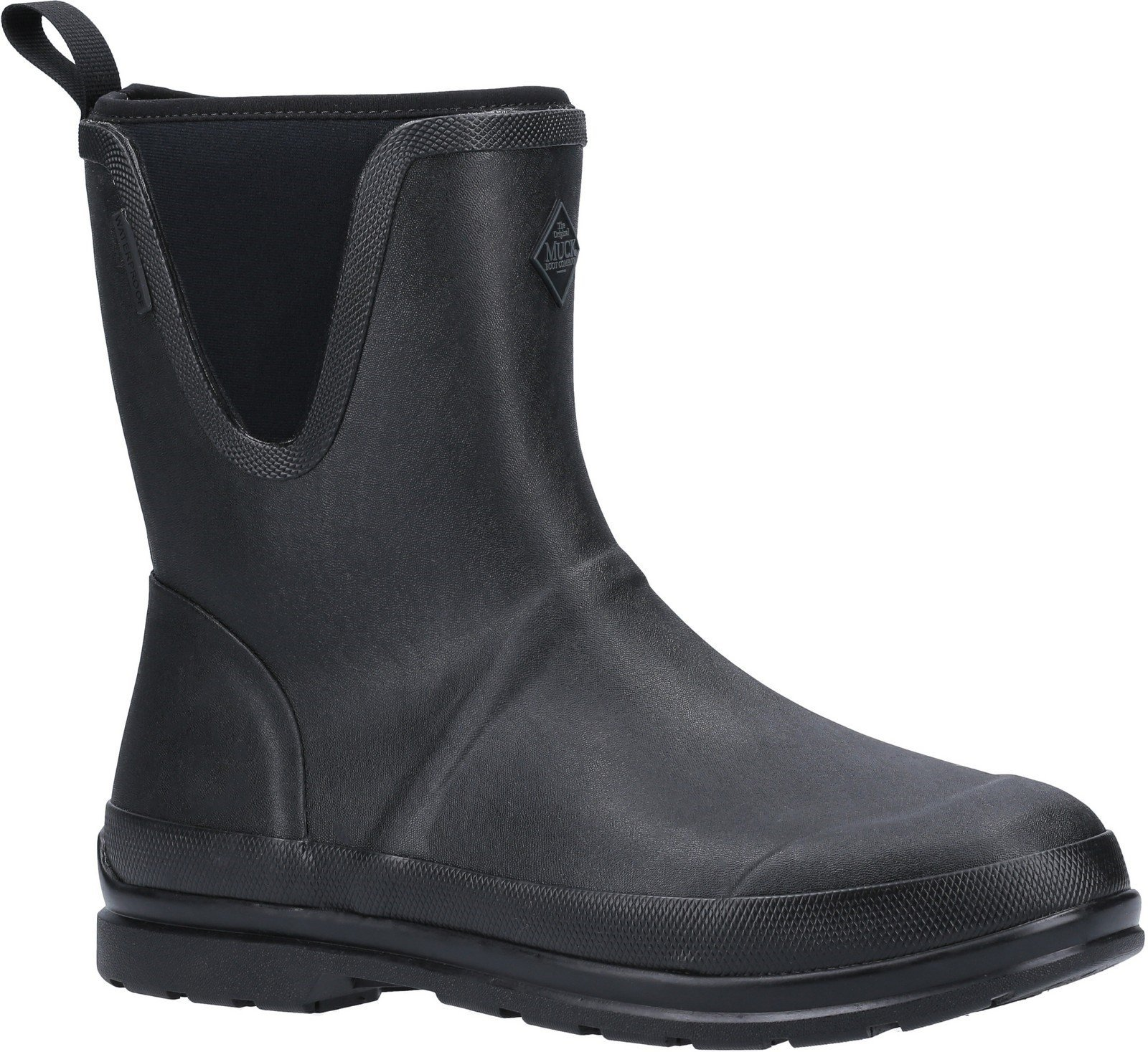 Muck Boots Unisex Originals Pull On Mid Boot Various Colours 30078 - Black 4