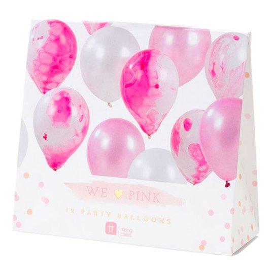 Ballonger Marmor Kit - Rosa