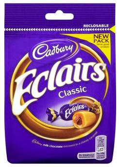 Cadbury Classic Eclairs 165g
