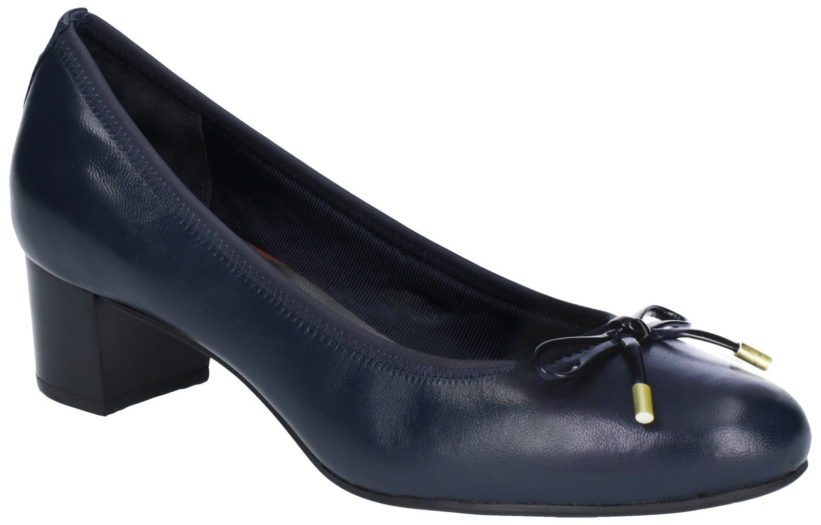 Rockport Women's Total Motion Gitty Luxe Bow Heel Saphire 27753 - Saphire 3