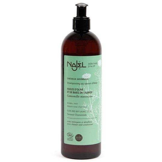 Najel Aleppo Soap Shampoo för normalt hår, 500 ml
