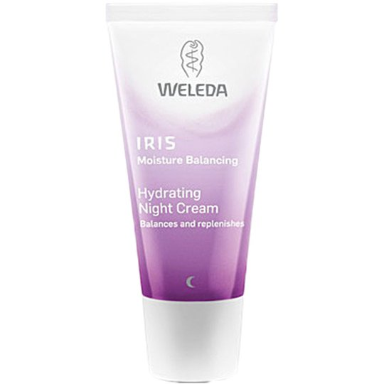 Weleda Iris Hydrating Night Cream, 30 ml Weleda Yövoiteet