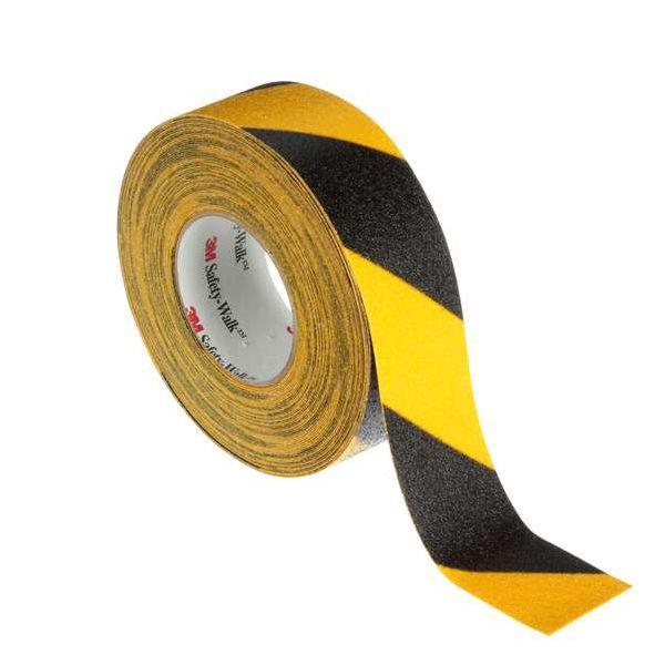 3M Safety-Walk 613 Sklisikringsteip svart/gul 25 mm x 18.3 m