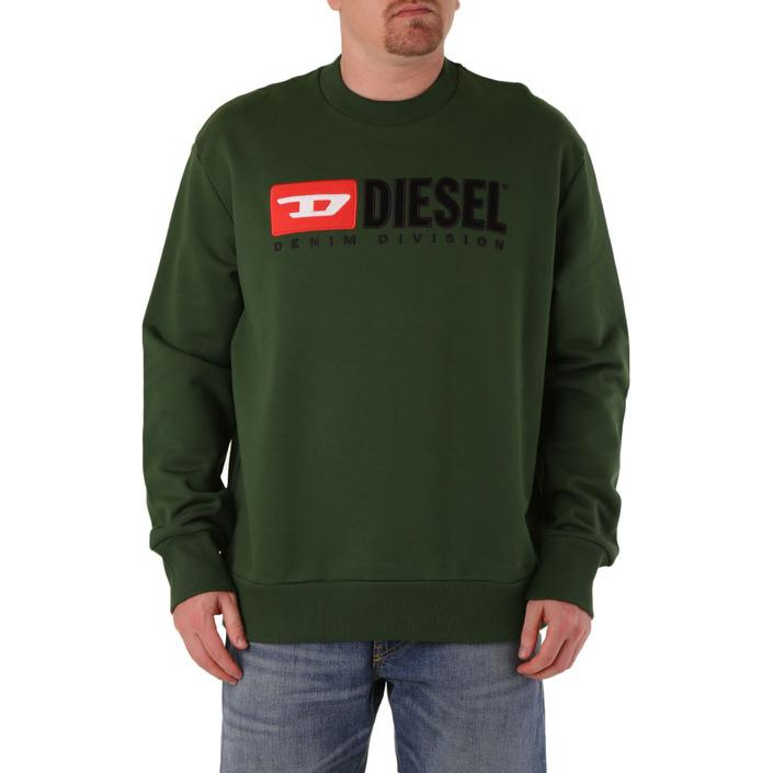 Diesel Men's Sweatshirt Various Colours 294149 - green XL