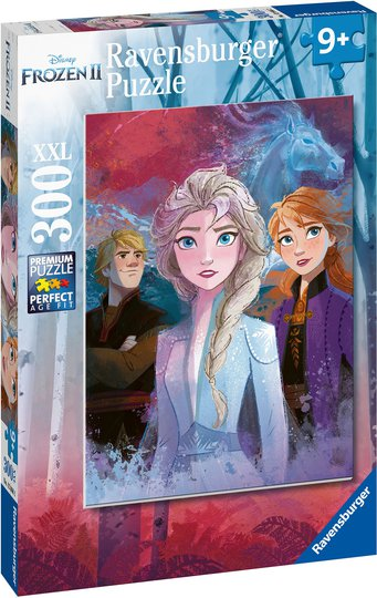 Ravensburger Disney Frozen Puslespill, 300 Brikker