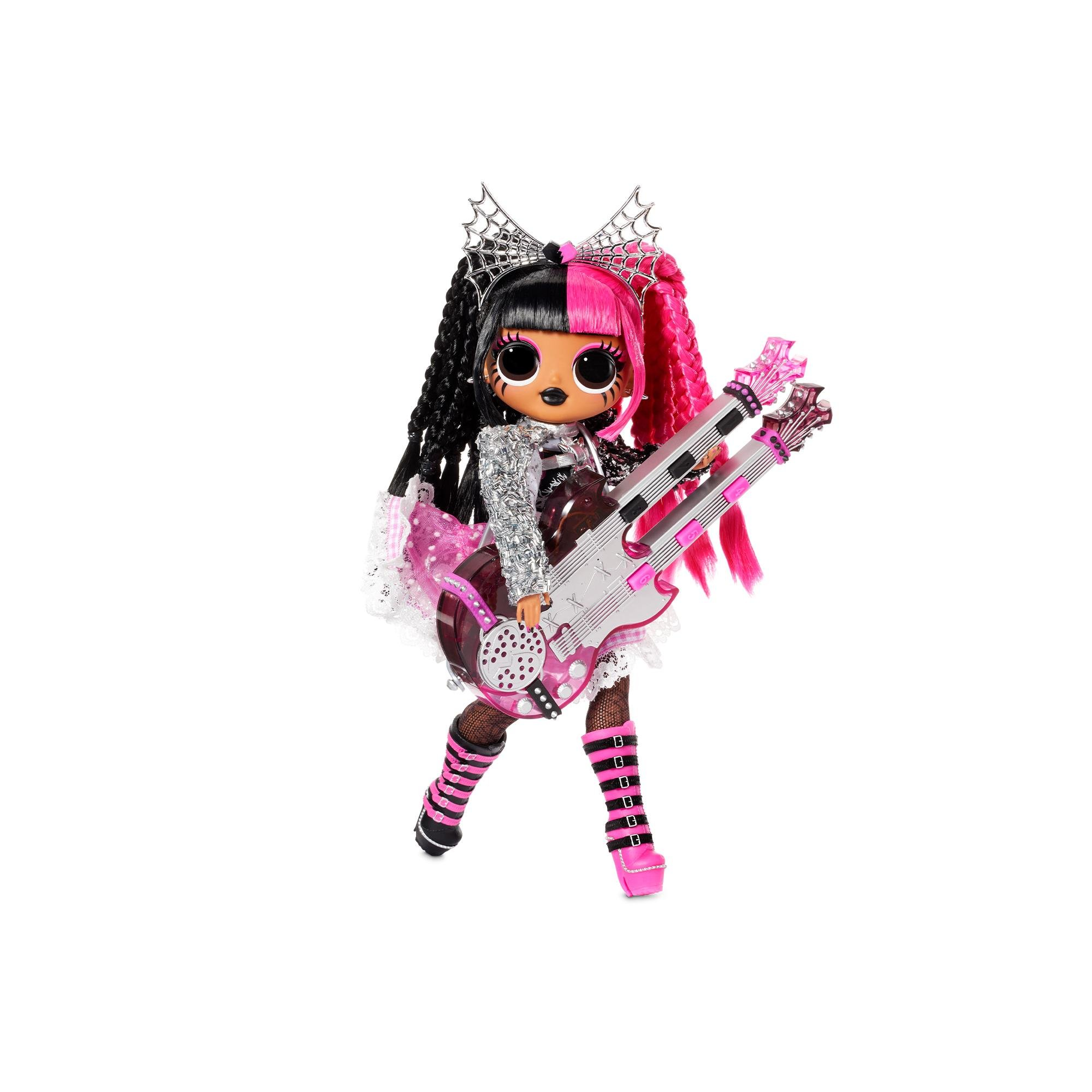 L.O.L. Surprise - OMG Remix Rock Doll - Metal Chick and Electric Guitar