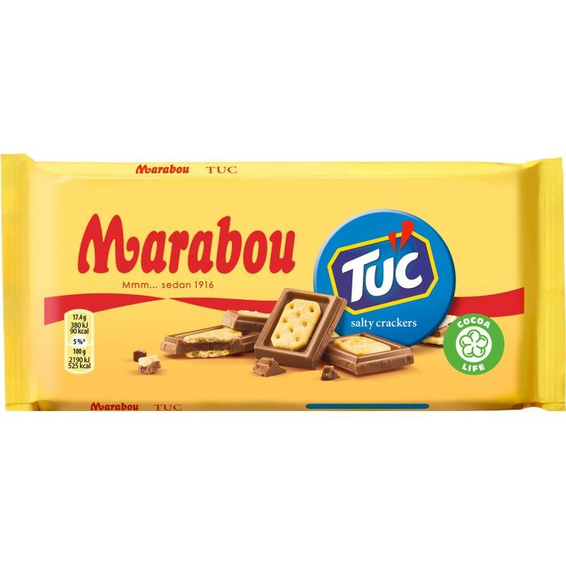 Marabou Chokladkaka Tuc 100g - 33% rabatt