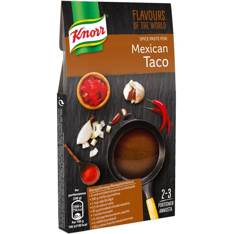"""Maustetahna """"Mexican Taco"""" 49g - 75% alennus"""