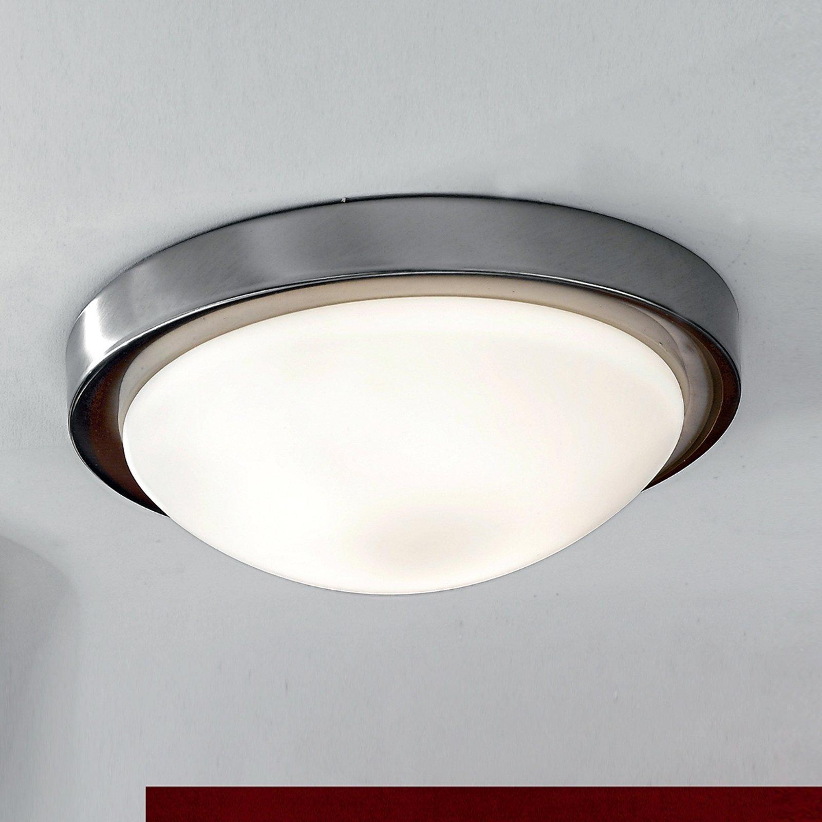 Diskret MINEA taklampe Ø 32 cm i nikkel