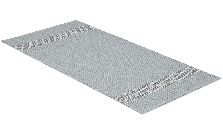 Freja grå - plastteppe