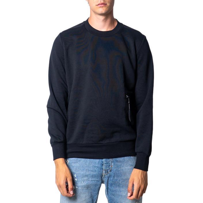 Diesel Men's Sweatshirt Black 175423 - black S