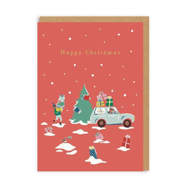 Cath Kidston Happy Christmas Card