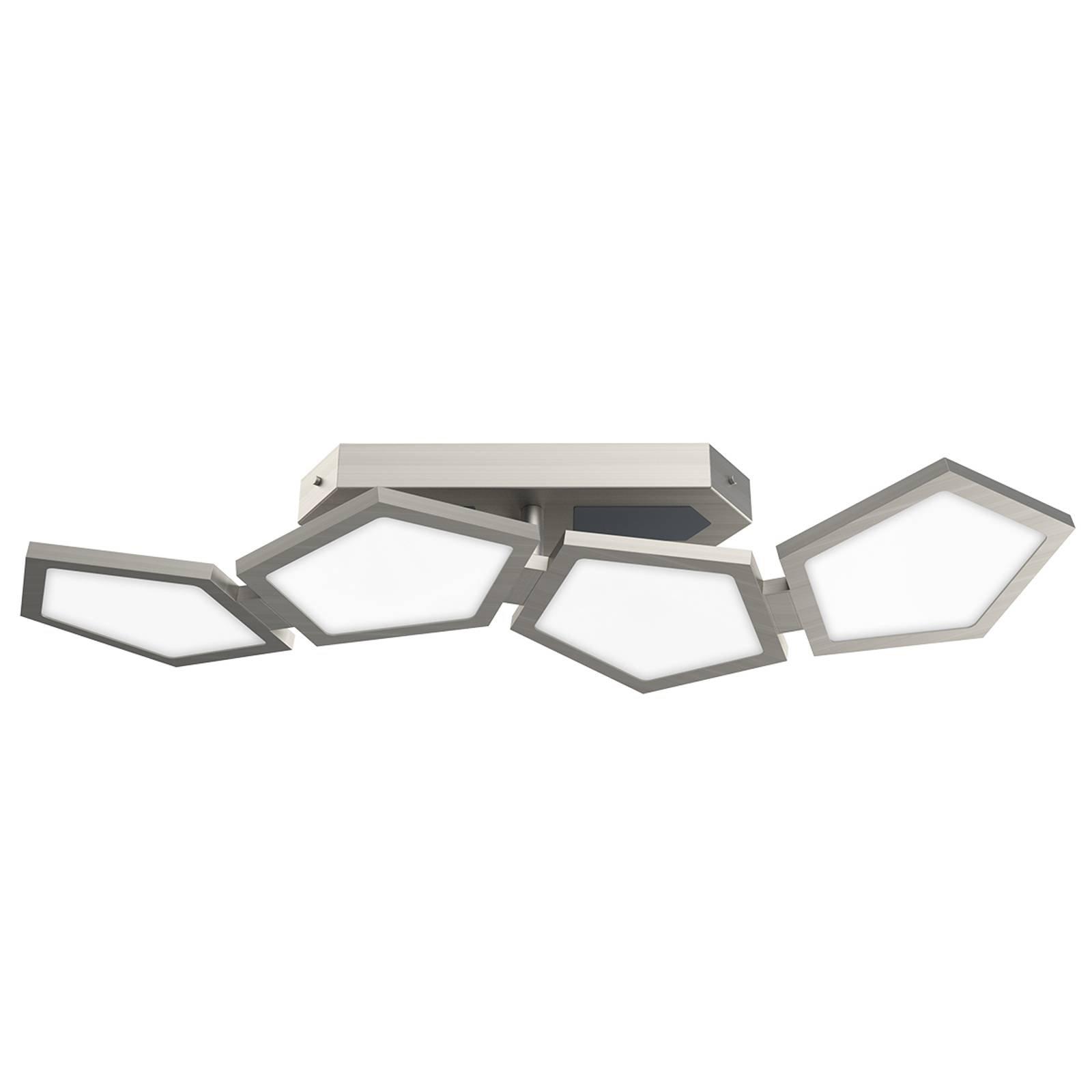 Funksjonell LED-taklampe Poly med fjernkontroll