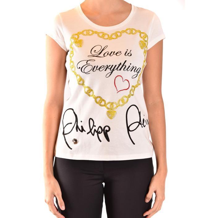 Philipp Plein Women's T-Shirt White 189881 - white M