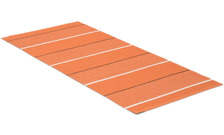 Loke oransje - plastteppe