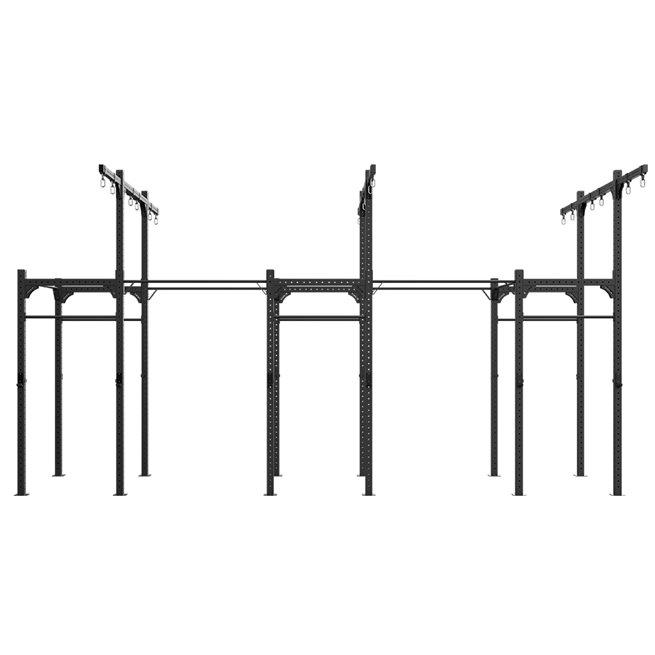 Eleiko Freestanding 7,2M XF 80 Rig W/ Rings/Ropes, Crossfit rig