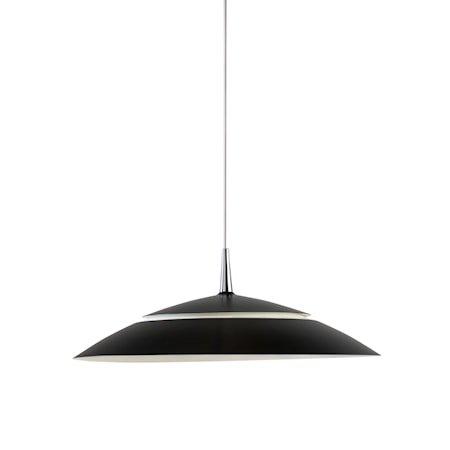 Viper Pendel D430 Mattsvart 12 W LED