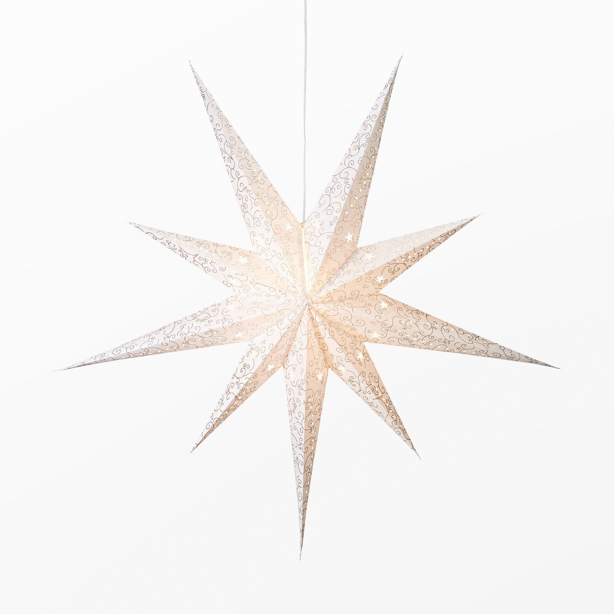Adventsstjärna, Ø60 cm