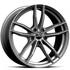 GMP Swan Glossy Anthracite 8.5x20 5/120 ET25 B72.6