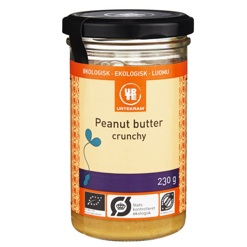 """Maapähkinävoi """"Crunchy"""" 230g - 33% alennus"""