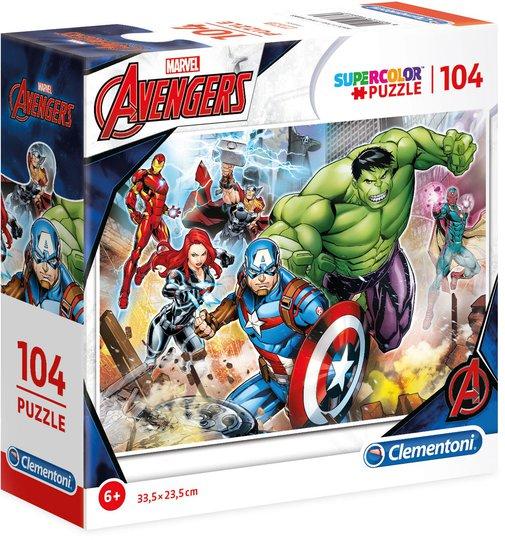 Marvel Avengers Puslespill, 104 Biter