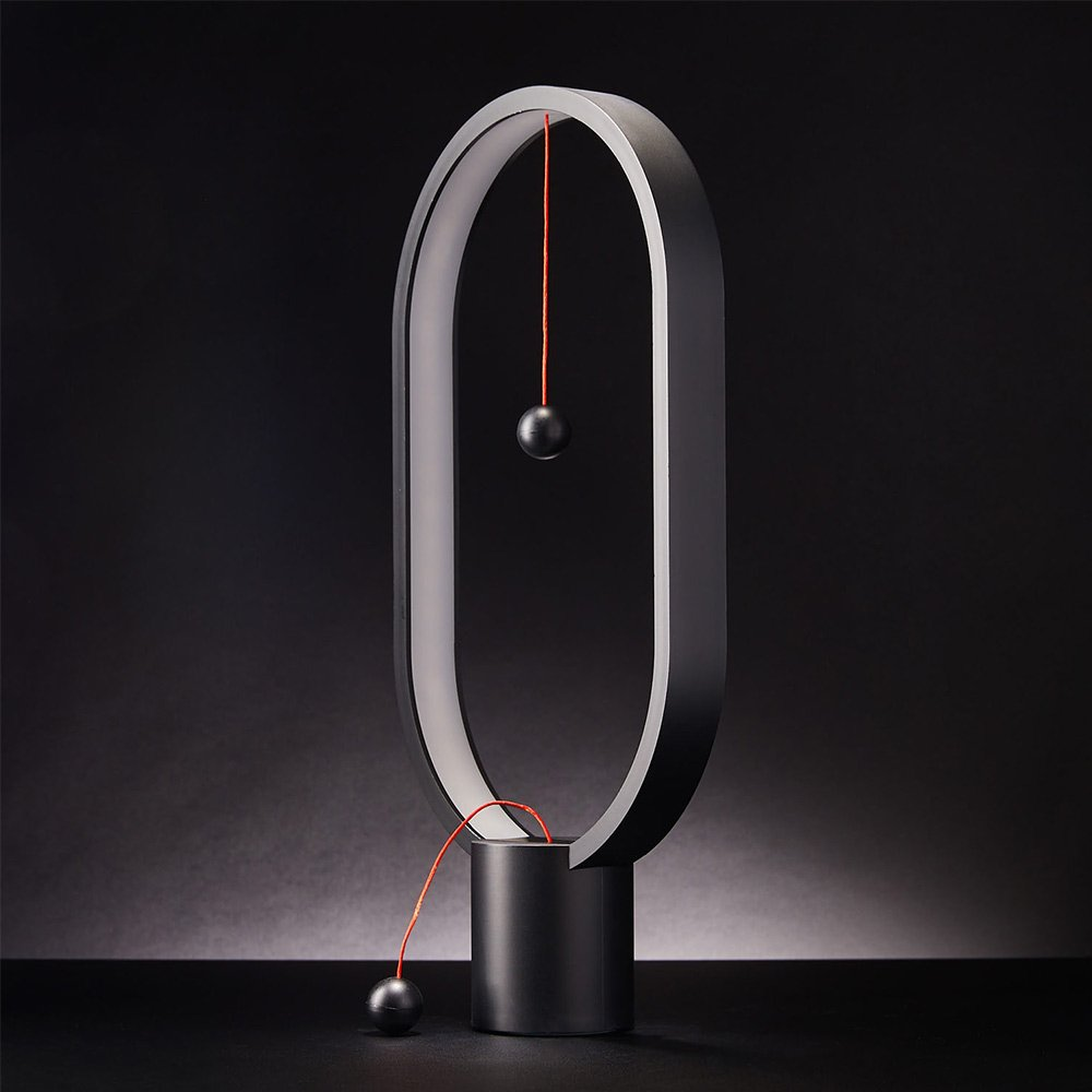 Heng Balance Lamp - Oval - Black (04931.BK)