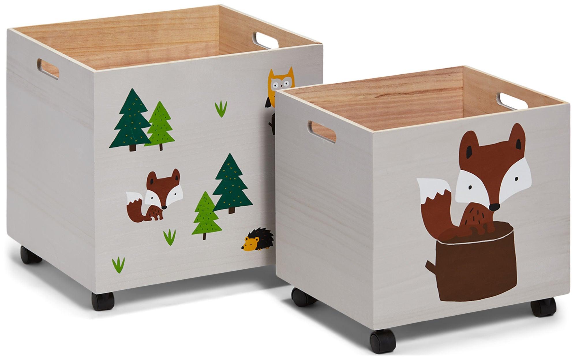 Alice & Fox Säilytyslaatikko 2-Pack Forest Adventure