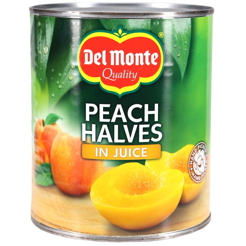 Persikohalvor i juice - 36% rabatt