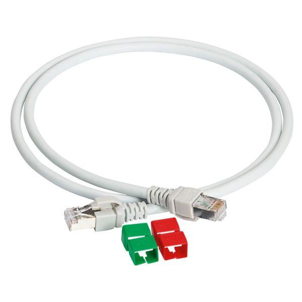 Schneider Electric VDIP181546005 Patchkabel 5E U/UTP, 2x RJ45 0,5 m