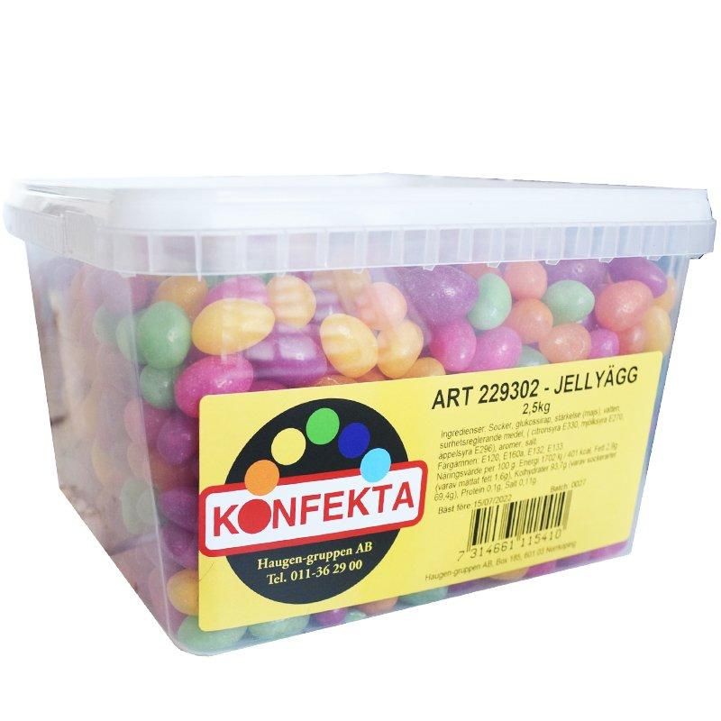 Jellyägg 2,5kg - 29% rabatt