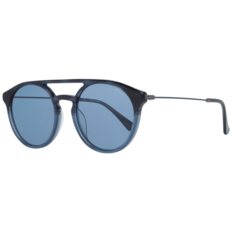 Police Men's Sunglasses Blue SPL722 5309QW