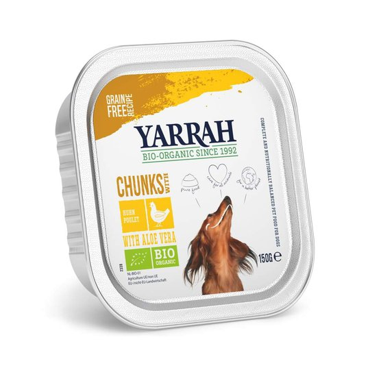 Yarrah Organic Dog Chunks Chicken