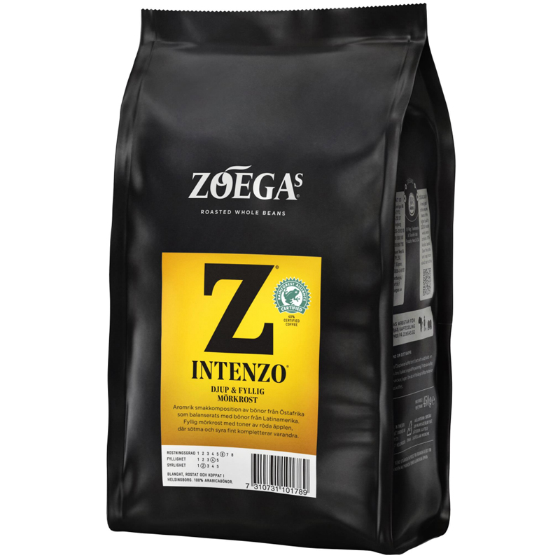 Kaffebönor Intenzo - 23% rabatt