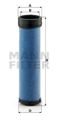 Toisioilmasuodatin MANN-FILTER CF 980/2