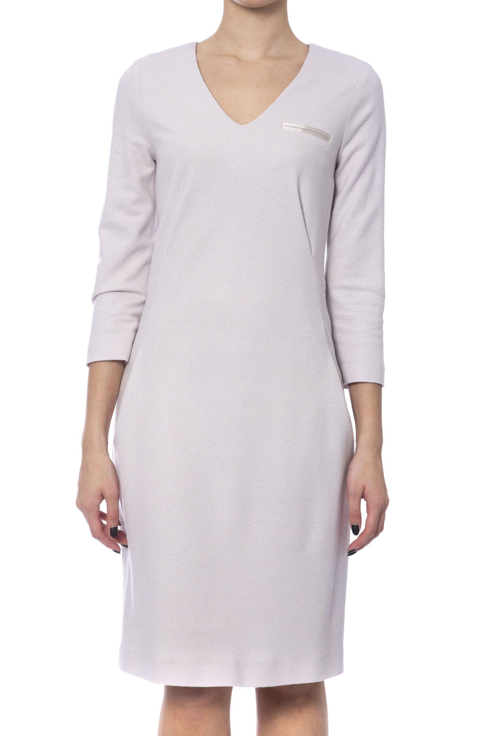 Peserico Women's Dress Beige PE992194 - IT42 | S