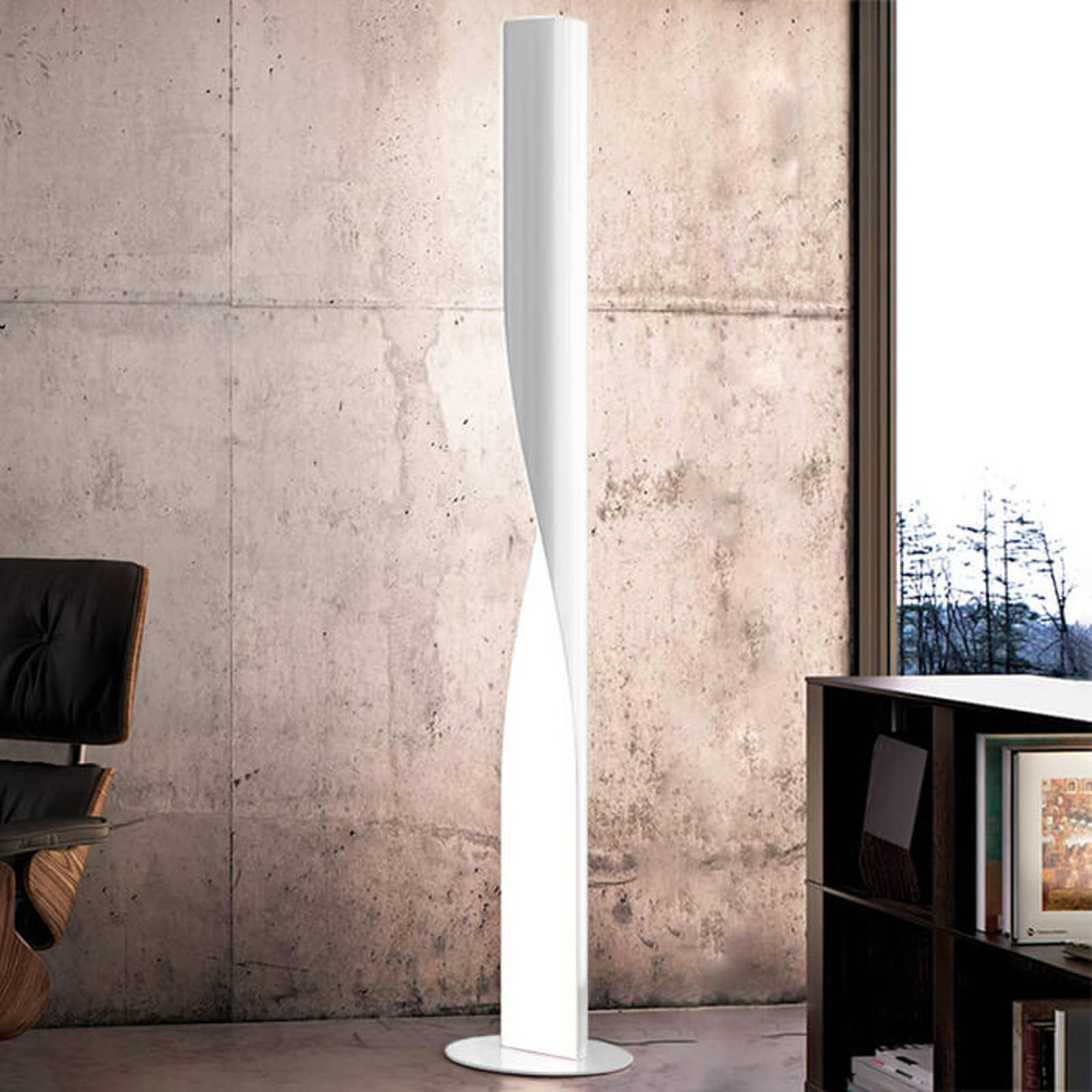 Kundalini Evita - LED-gulvlampe, hvit