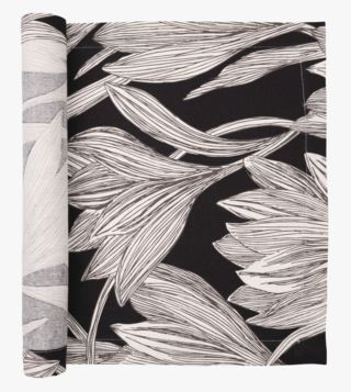 Linear-Iris kaitaliina musta