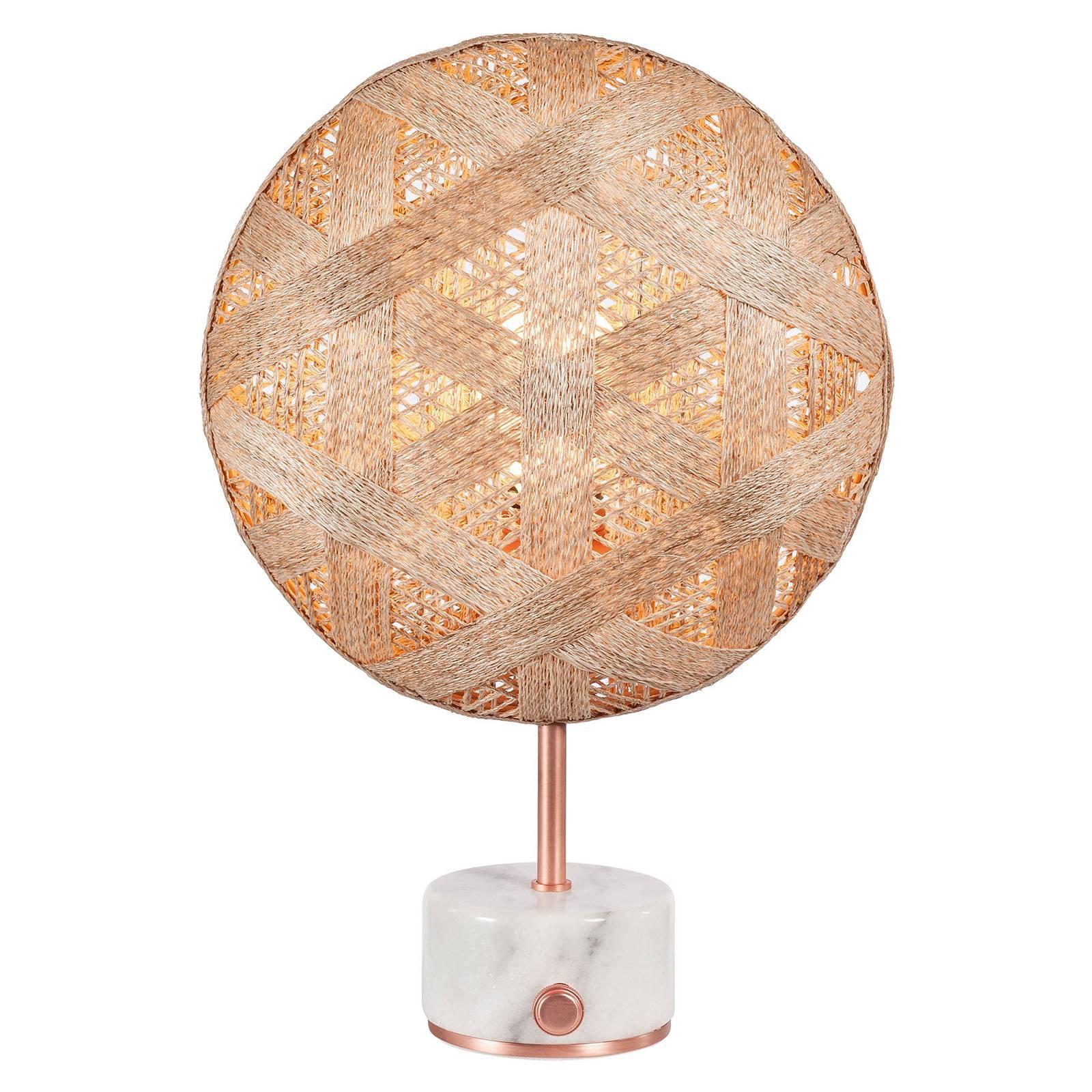 Forestier Chanpen S heksagonal bord, kobber/natur