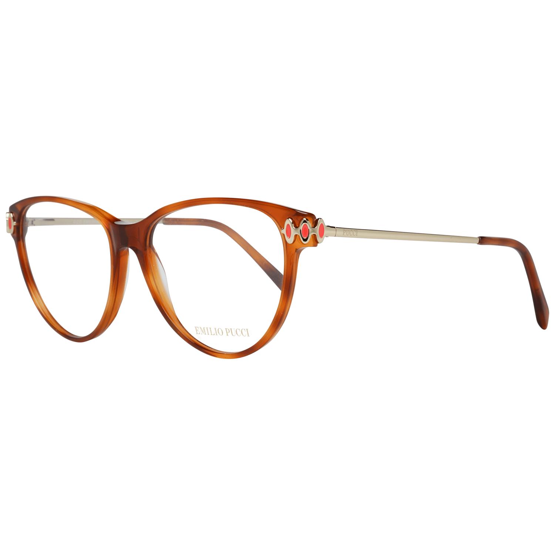 Emilio Pucci Women's Optical Frames Eyewear Brown EP5055 55053