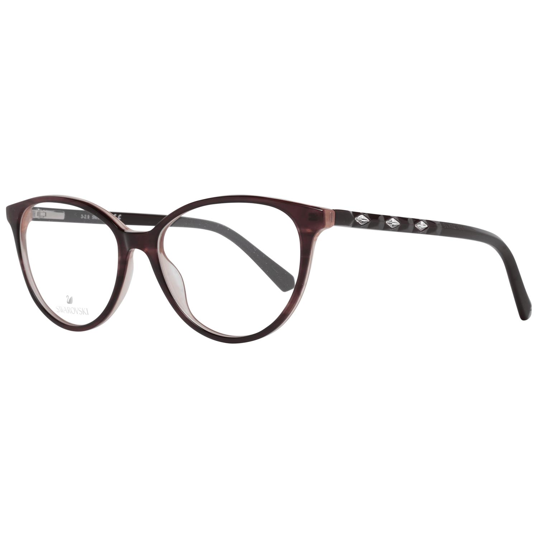 Swarovski Women's Optical Frames Eyewear Burgundy SK5302 53071
