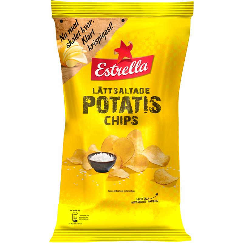 Chips Saltade 175g - 15% rabatt