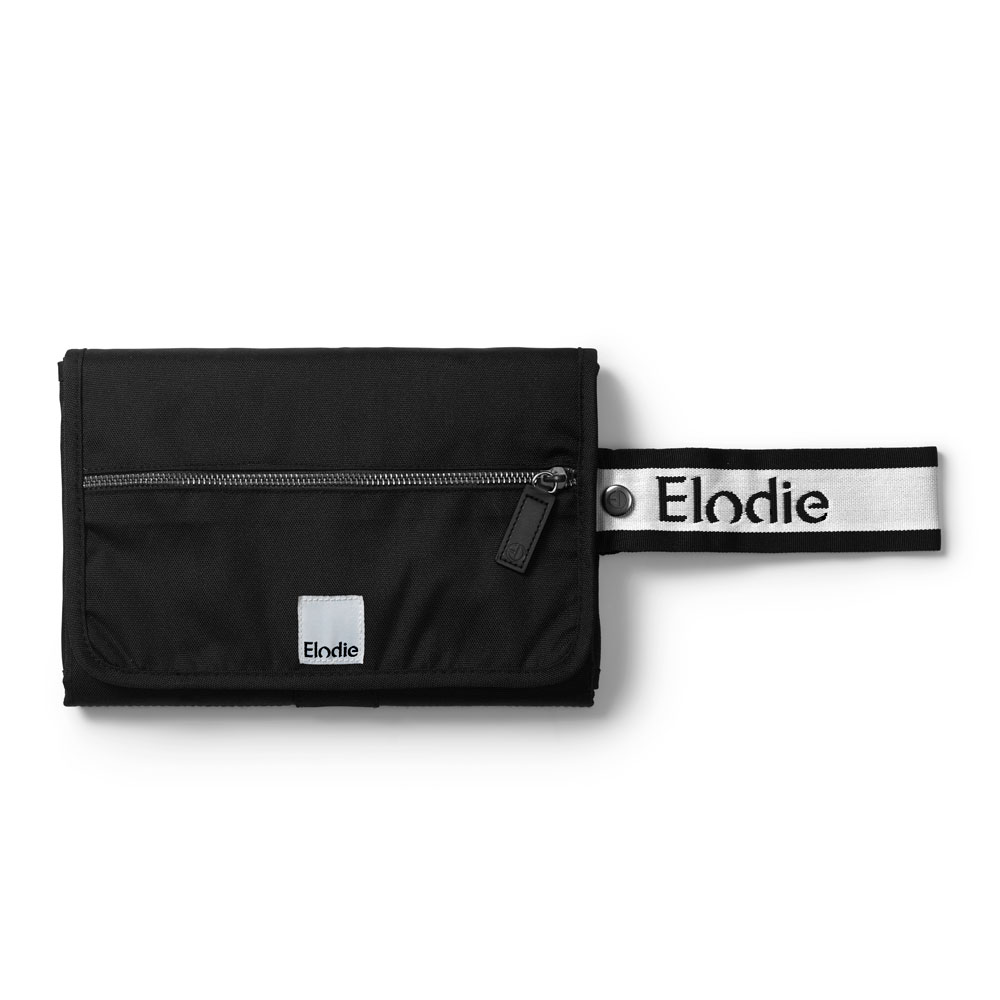 Portable Changing Mat - Off Black