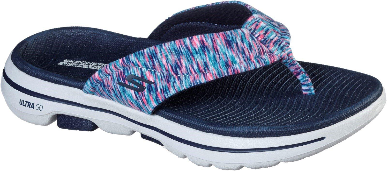 Skechers Women's Go Walk 5 Destined Sandal Various Colours 32154 - Navy 3