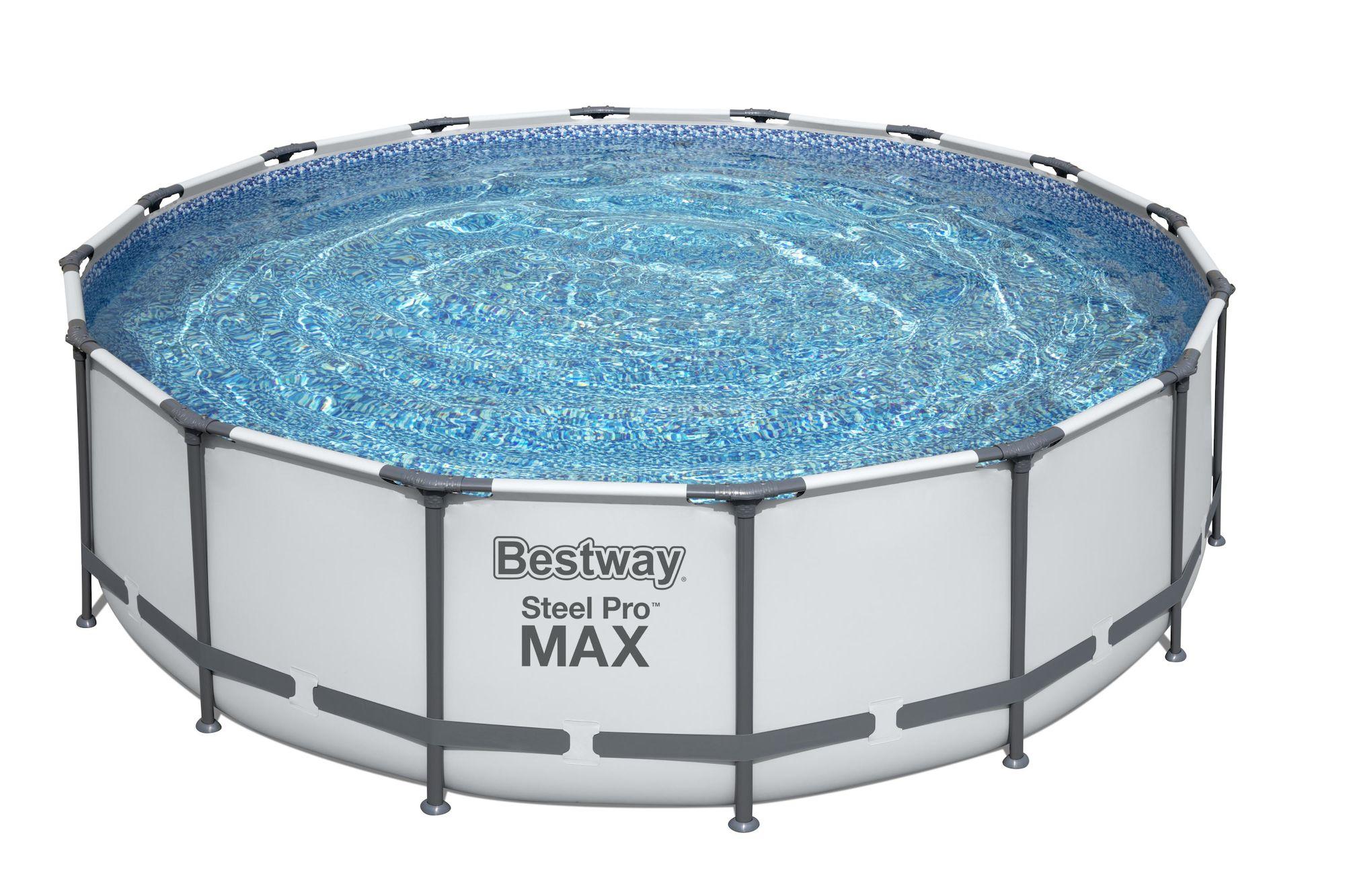 Bestway Steel Pro MAX Pool m. Tillbehör 4.88m x 1.22m