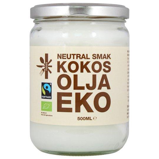 Superfruit Ekologisk Kokosolja Neutral, 500 ml
