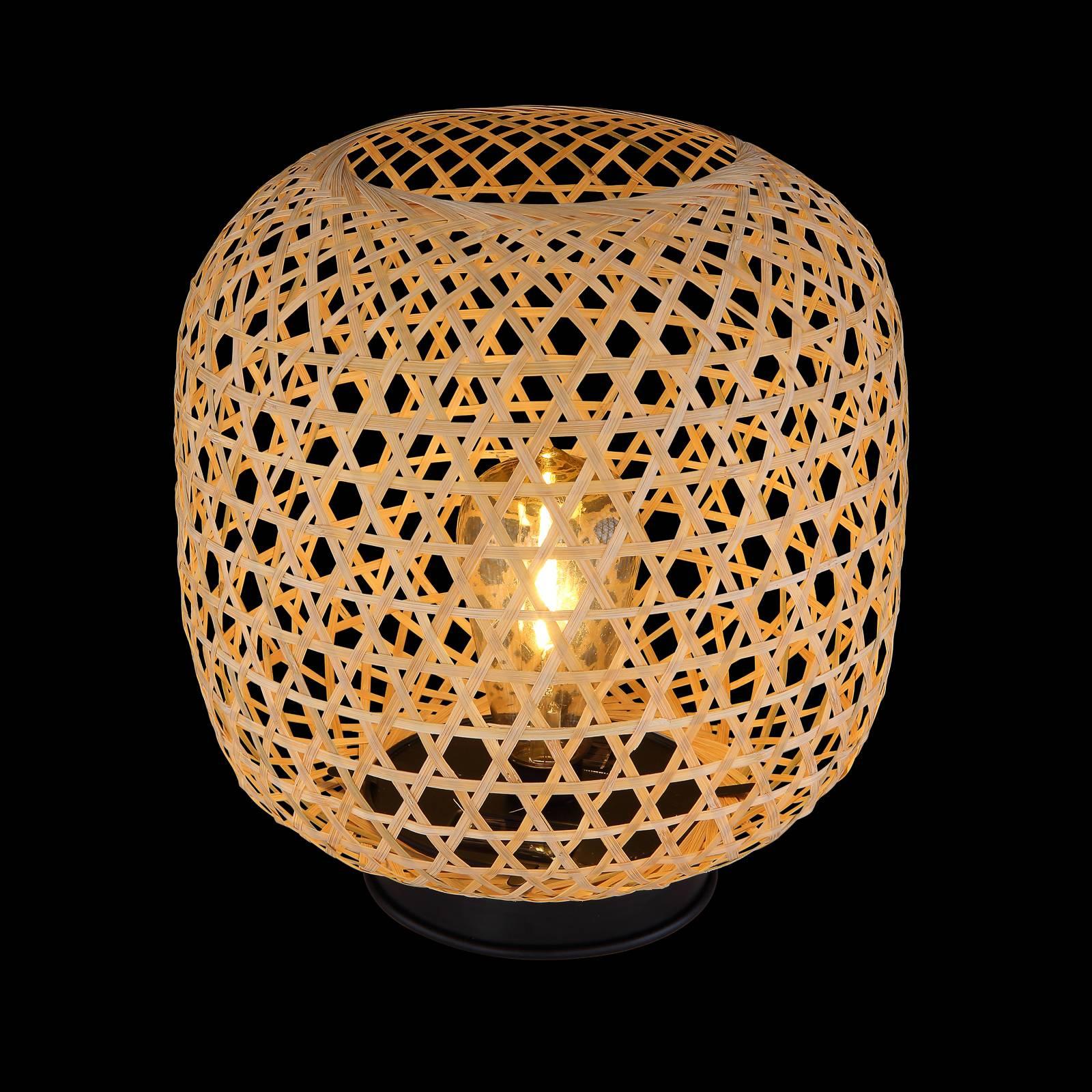 Aurinkokäyttöinen LED-ulkokoristevalo 36671, bambu