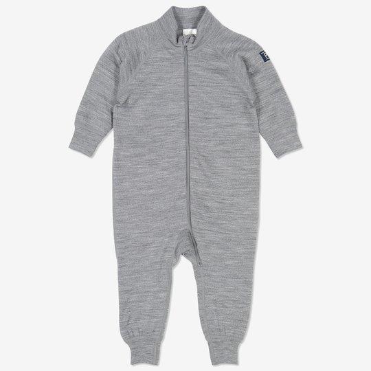 Dress ullfrotté baby grå