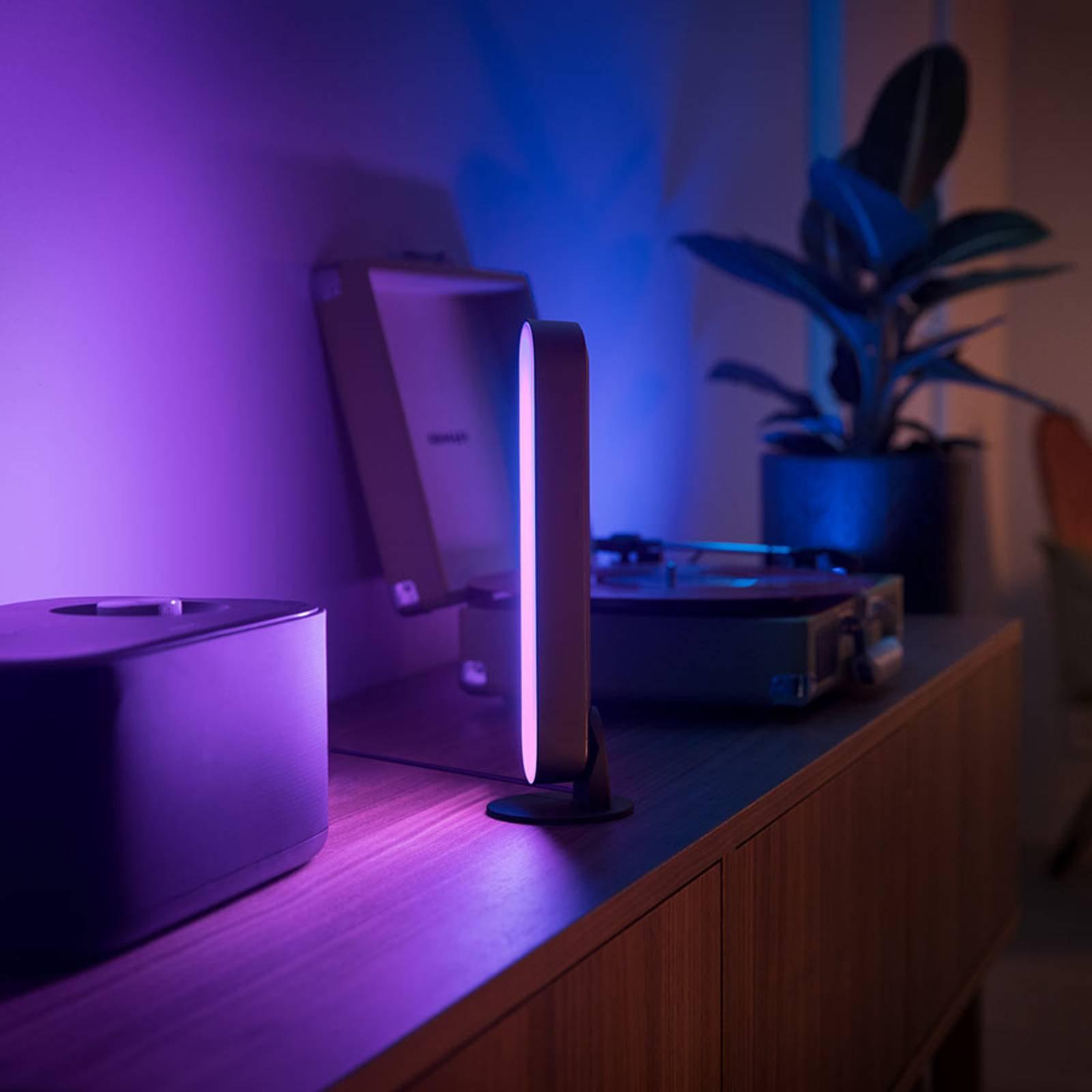 Philips Hue Play Lightbar dobbelpakning svart